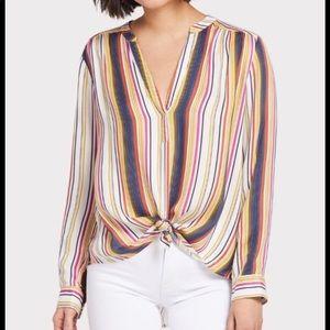 Evereve (Allison Joy) striped shirt, size S